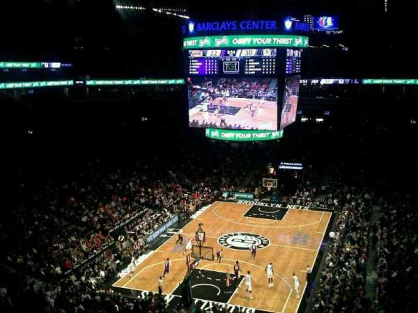 Barclays Center, secção: 231, fila: 4, lugar: 1
