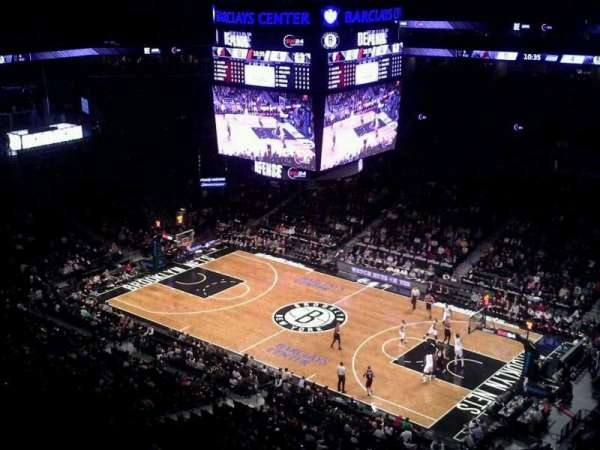 Barclays Center, secção: 221, fila: 9, lugar: 1