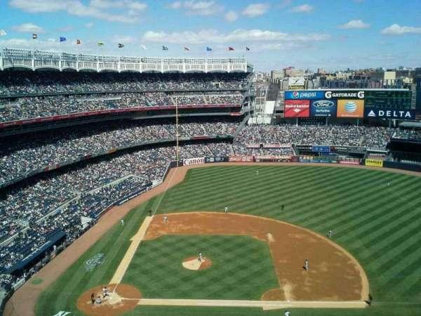 Yankee Stadium, secção: 416, fila: 7, lugar: 24