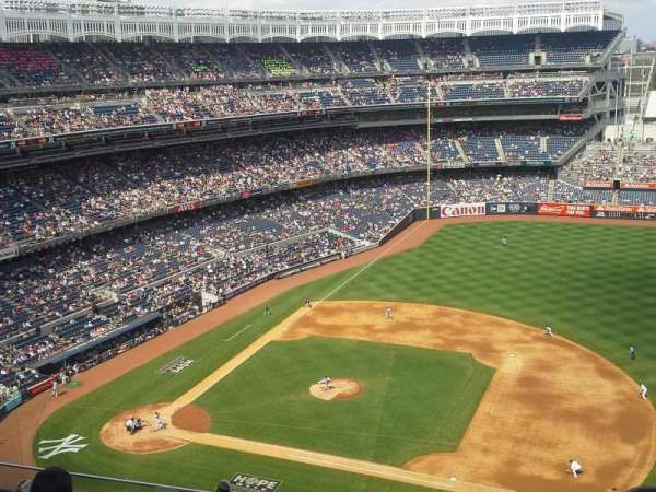 Yankee Stadium, secção: 415, fila: 5, lugar: 1