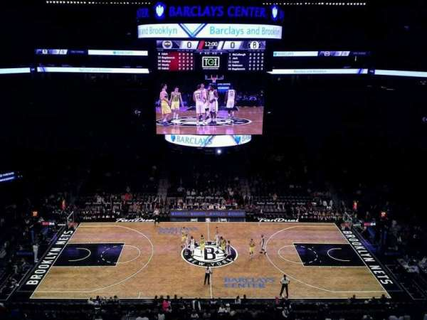 Barclays Center, secção: 225, fila: 1, lugar: 1