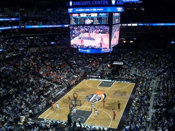 Barclays Center, secção: 230, fila: 6, lugar: 17