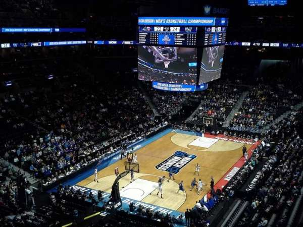 Barclays Center, secção: 214, fila: 7, lugar: 3