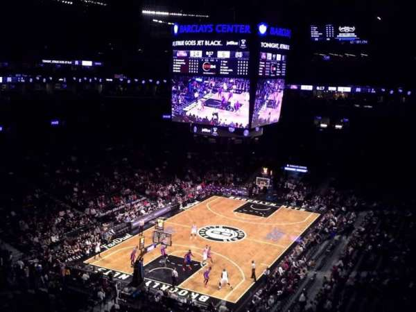 Barclays Center, secção: 230, fila: 4, lugar: 1