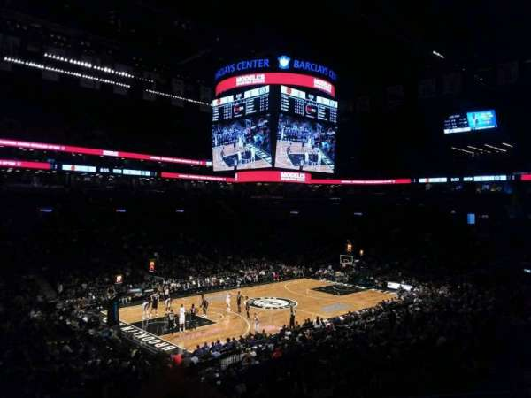 Barclays Center, secção: 112, fila: 7, lugar: 18