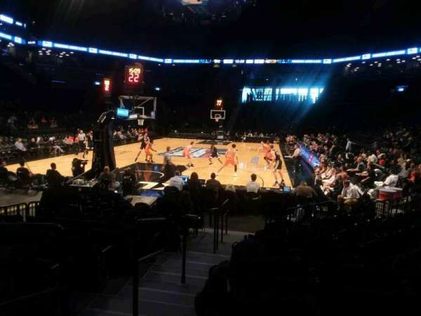 Barclays Center, secção: 15, fila: 13