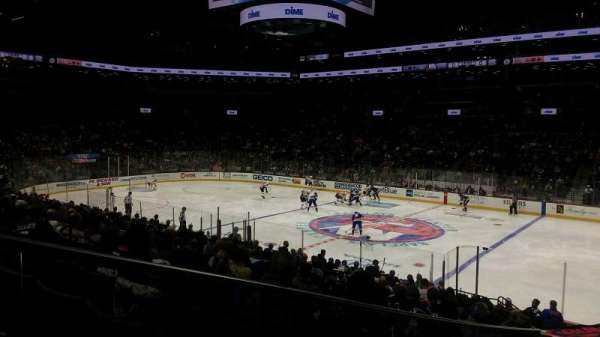 Barclays Center, secção: 20, fila: 19