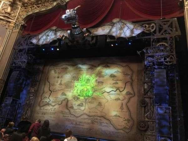 Nederlander Theatre (Chicago), secção: Orchestra R, fila: K, lugar: 2