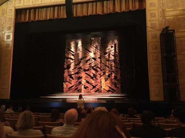 Auditorium Theatre, secção: Orchrc, fila: L, lugar: 205