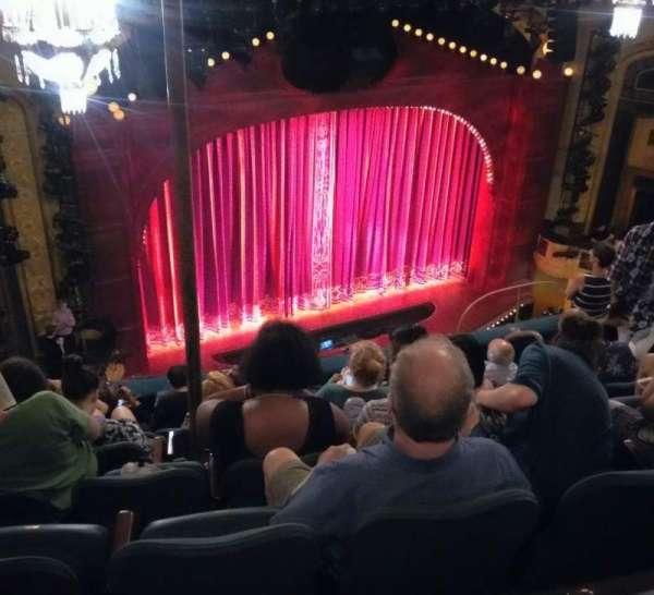 Shubert Theatre, secção: Balcony L, fila: G, lugar: 15