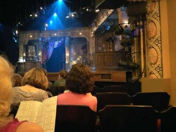 Bernard B. Jacobs Theatre, secção: Orchestra, fila: E, lugar: 12