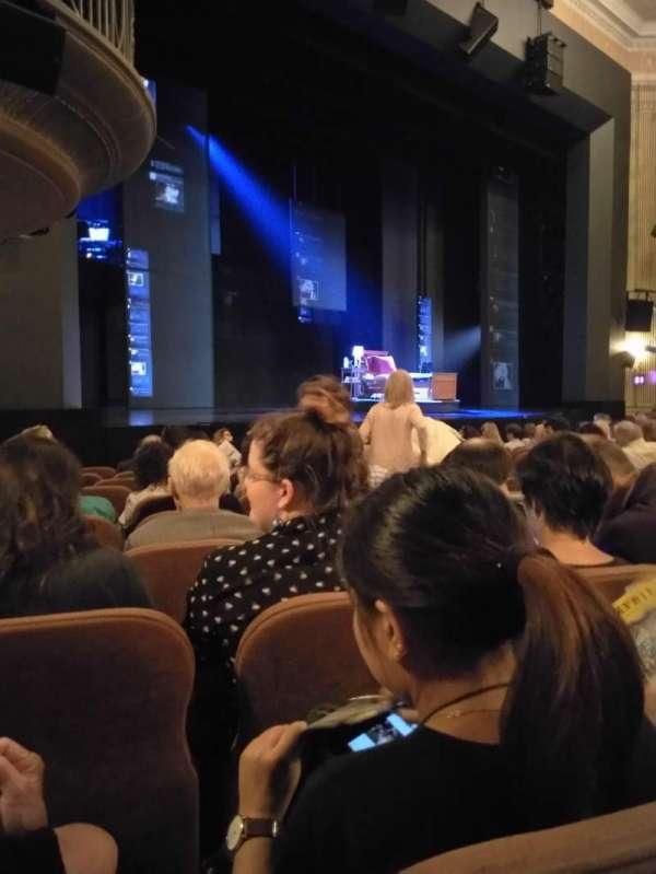 Music Box Theatre, secção: Orchestra L, fila: L, lugar: 23