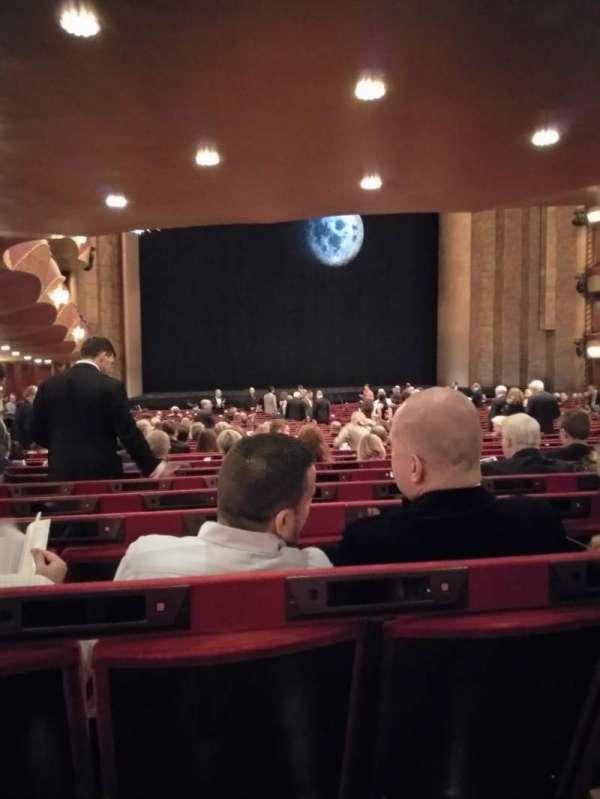 Metropolitan Opera House - Lincoln Center, secção: Orchestra, fila: CC, lugar: 29