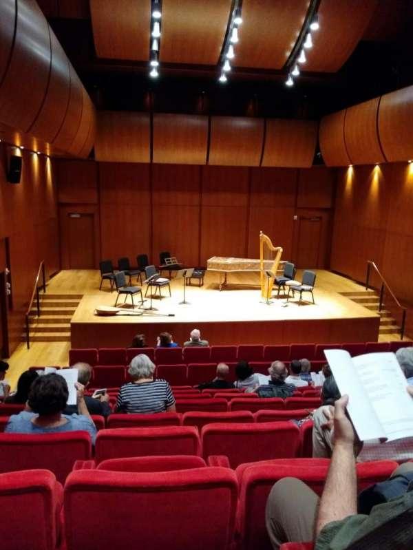 Gilder Lehrman Hall, secção: Orchestra, fila: H, lugar: 4
