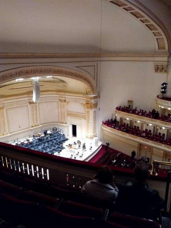 Carnegie Hall, secção: Lower Side Balcony L, fila: D, lugar: 51