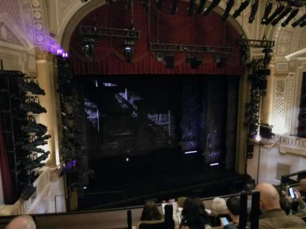 Samuel J. Friedman Theatre, secção: Mezzanine L, fila: C, lugar: 1