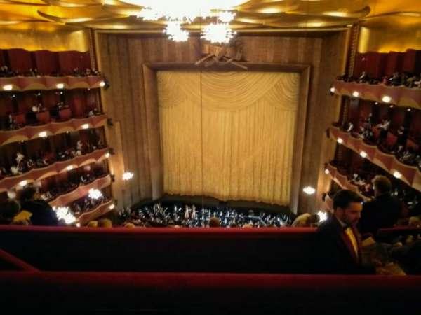 Metropolitan Opera House - Lincoln Center, secção: Family Circle, fila: B, lugar: 210