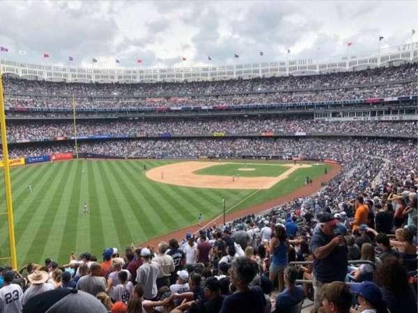 Yankee Stadium, secção: 232A, fila: 16, lugar: 9