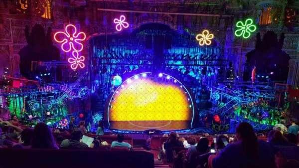 Nederlander Theatre (Chicago), secção: Balcony C, fila: M, lugar: 321