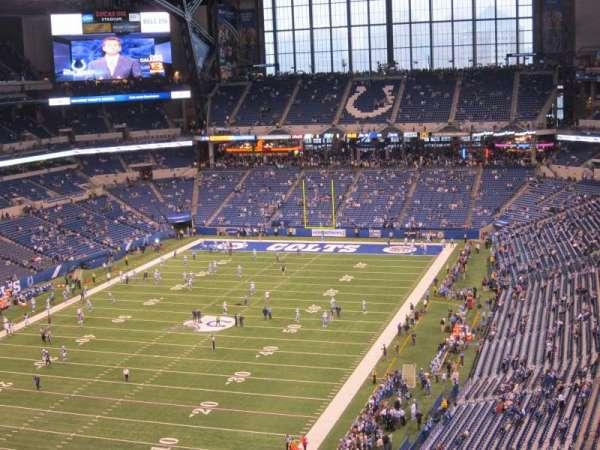 Lucas Oil Stadium, secção: 624, fila: 8, lugar: 11