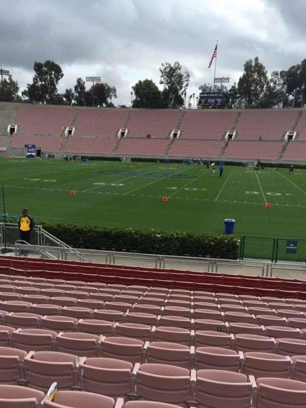 Rose Bowl, secção: 20-H, fila: 13