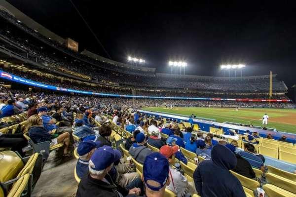 Dodger Stadium, secção: Field Box VIP 24, fila: G, lugar: 5