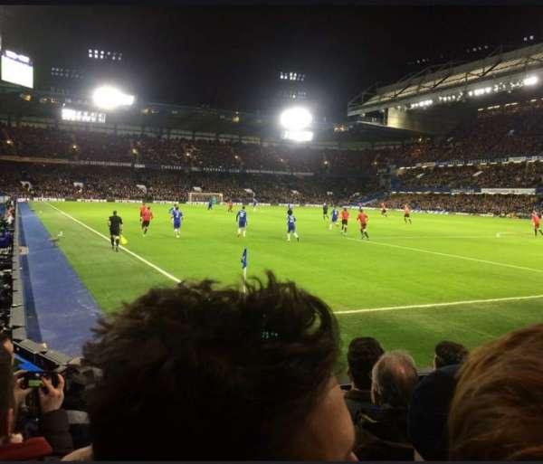 Stamford Bridge, secção: Shed End Lower 6, fila: 8, lugar: 185