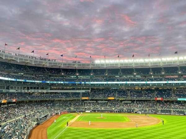 Yankee Stadium, secção: 206, fila: 10, lugar: 1