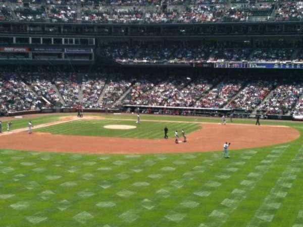 Coors Field, secção: 204, fila: 2, lugar: 8