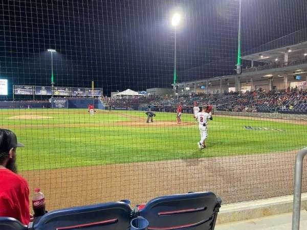 Fredericksburg Ballpark, secção: 16, fila: C, lugar: 2