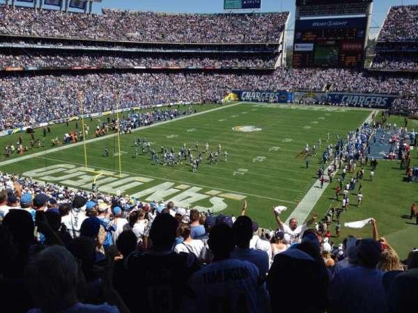 San Diego Stadium, secção: P24, fila: 11, lugar: 16