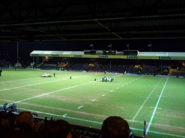 Headingley Stadium, secção: B, fila: M, lugar: 20