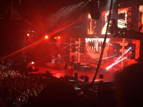 Madison Square Garden, secção: 108, fila: 9, lugar: 3