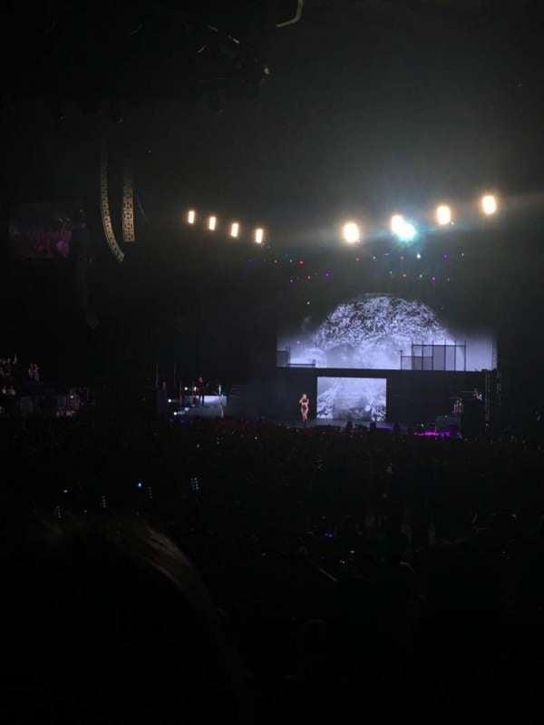 Madison Square Garden, secção: 104, fila: 10, lugar: 16