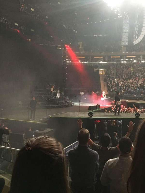 Madison Square Garden, secção: 116, fila: 7, lugar: 7