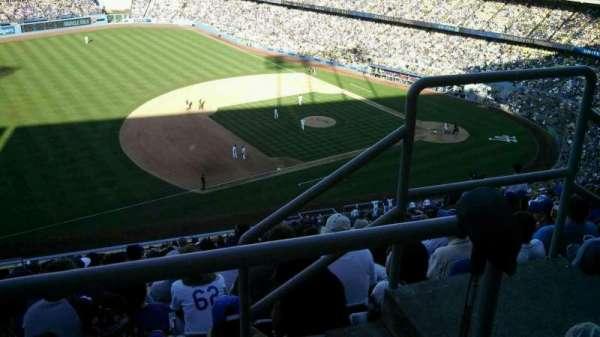 Dodger Stadium, secção: 29RS, fila: BB, lugar: 3