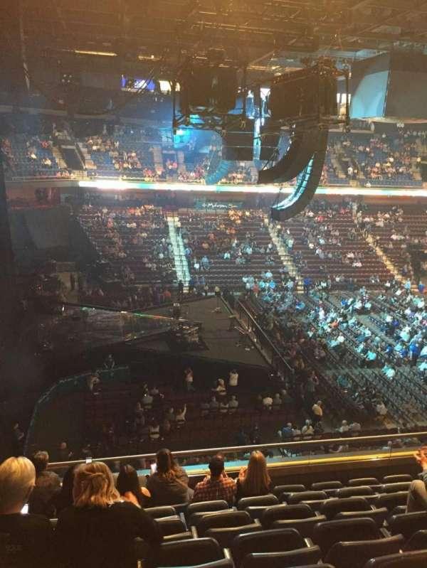 Mohegan Sun Arena, secção: 119, fila: G, lugar: 11