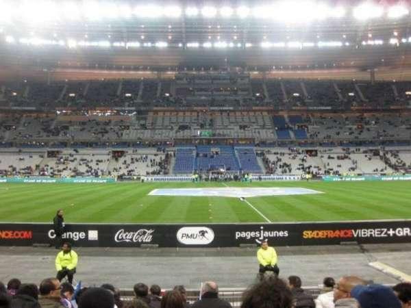 Stade de France, secção: Tribune Base- Est G5, fila: 10, lugar: 10