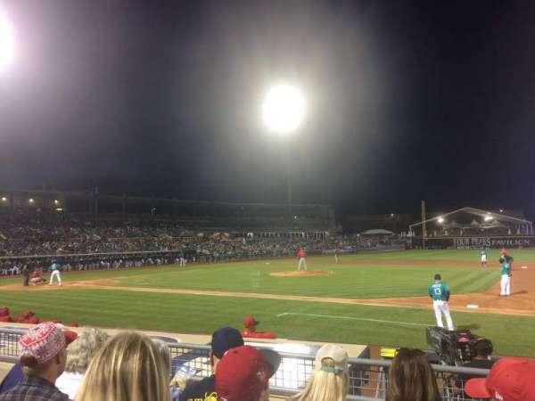 Peoria Sports Complex, secção: 114, fila: K, lugar: 9