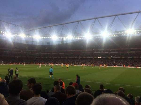 Emirates Stadium, secção: 31, fila: 8, lugar: 964