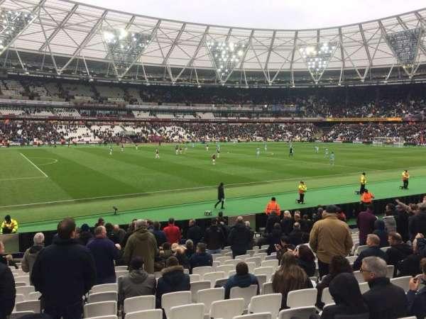 London Stadium, secção: 133, fila: 17, lugar: 346
