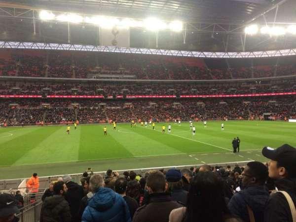 Wembley Stadium, secção: 102, fila: 18, lugar: 67