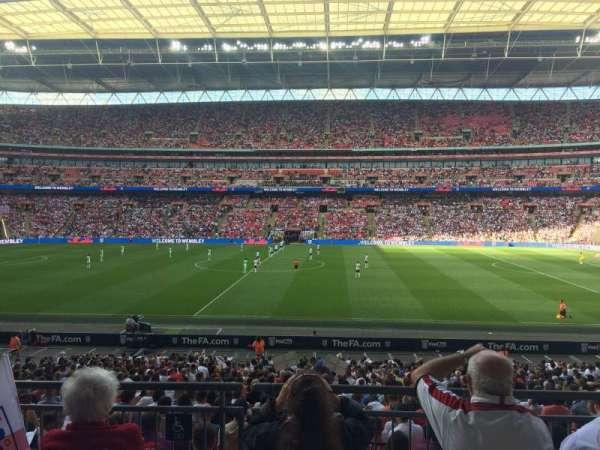 Wembley Stadium, secção: 122, fila: 31, lugar: 299
