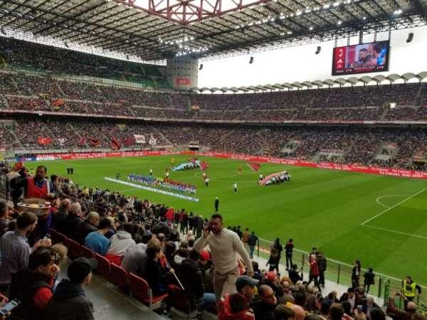 Stadio Giuseppe Meazza, secção: A, fila: 3, lugar: 12