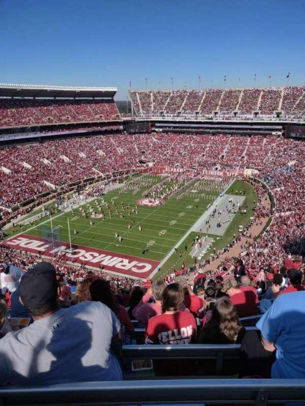 Bryant-Denny Stadium, secção: SS-2 - SS-5, fila: 28, lugar: 18