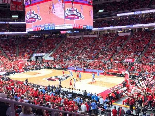 PNC Arena, secção: 115, fila: Z, lugar: 16