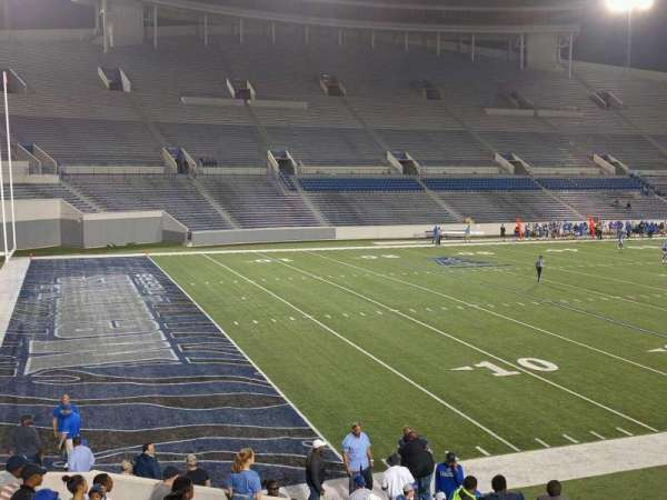 Liberty Bowl Memorial Stadium, secção: 109, fila: 20, lugar: 01