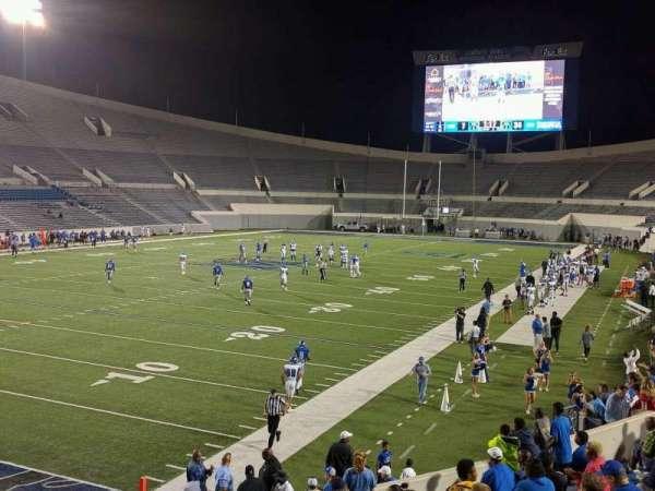 Liberty Bowl Memorial Stadium, secção: 110, fila: 20, lugar: 01