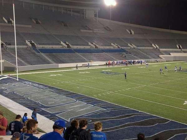Liberty Bowl Memorial Stadium, secção: 111, fila: 20, lugar: 01