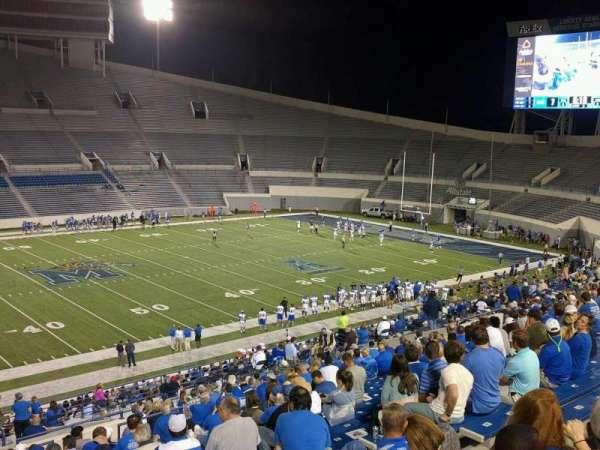 Liberty Bowl Memorial Stadium, secção: 106, fila: 20, lugar: 10